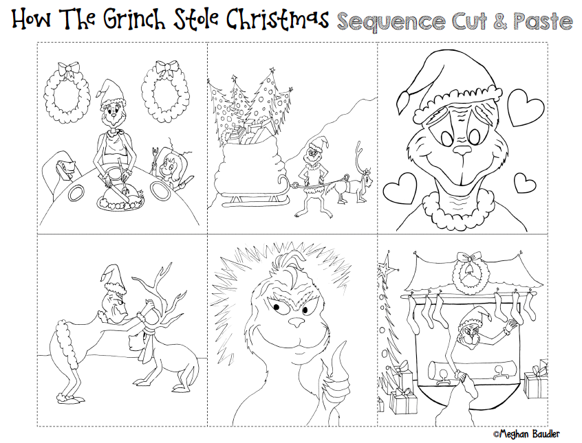 The Creative Colorful Classroom Grinch Day Plans