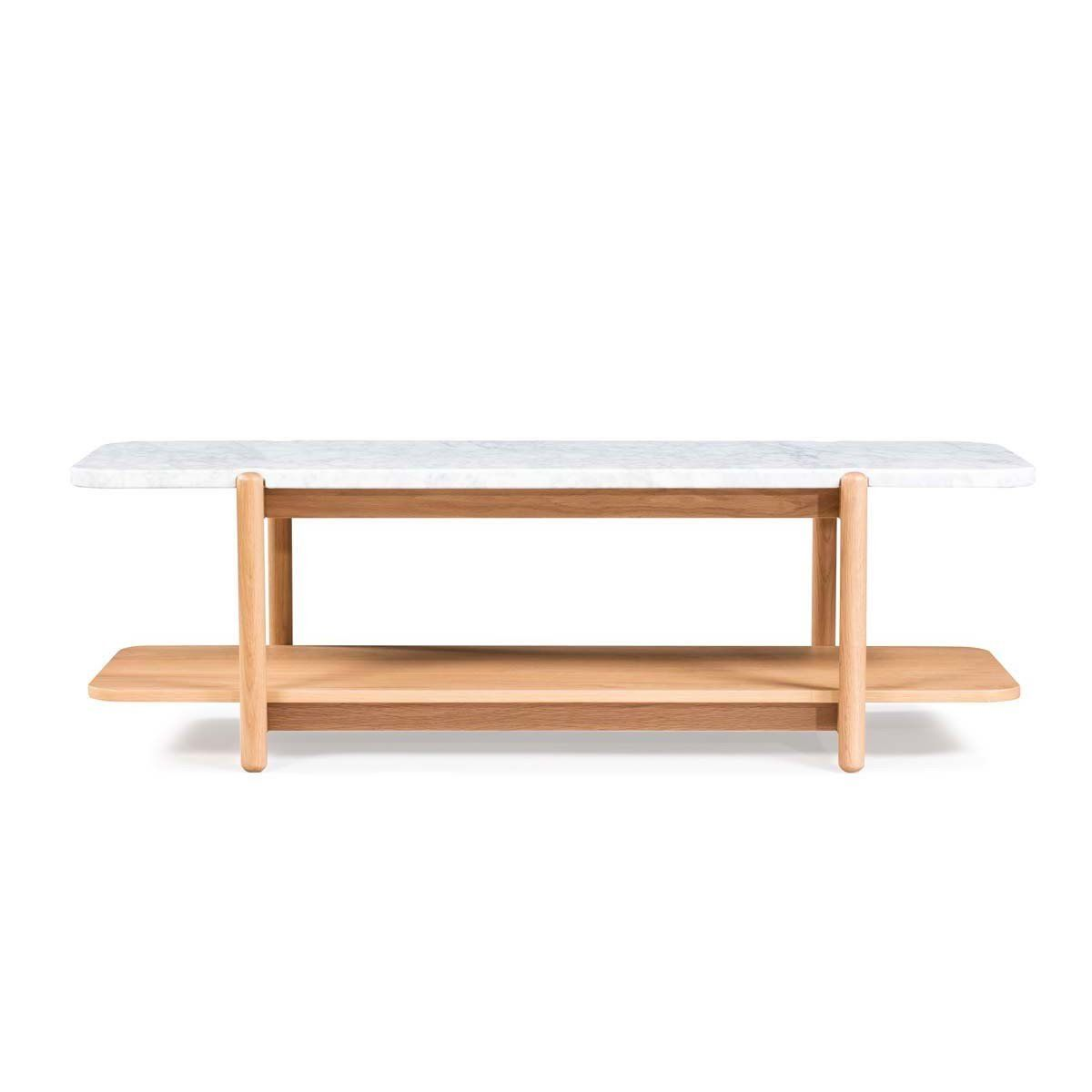 Norah Marble Coffee Table. Shelving UnitsStorage ...  sc 1 st  Pinterest & Norah Marble Coffee Table   Marble top Solid oak and Multifunctional