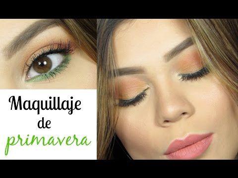 MAQUILLAJE PARA PRIMAVERA - SPRING   Colaboración Natalia Julia   Cristina Vives♡ - YouTube