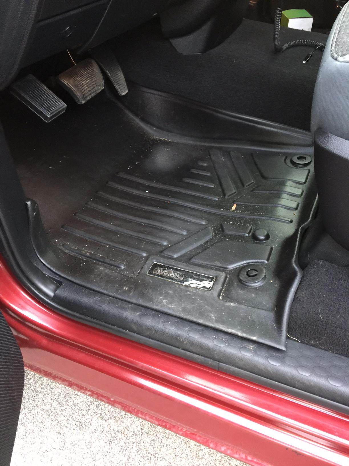 maxliner molded mats Celine luggage bag, Rust paint, Muffler