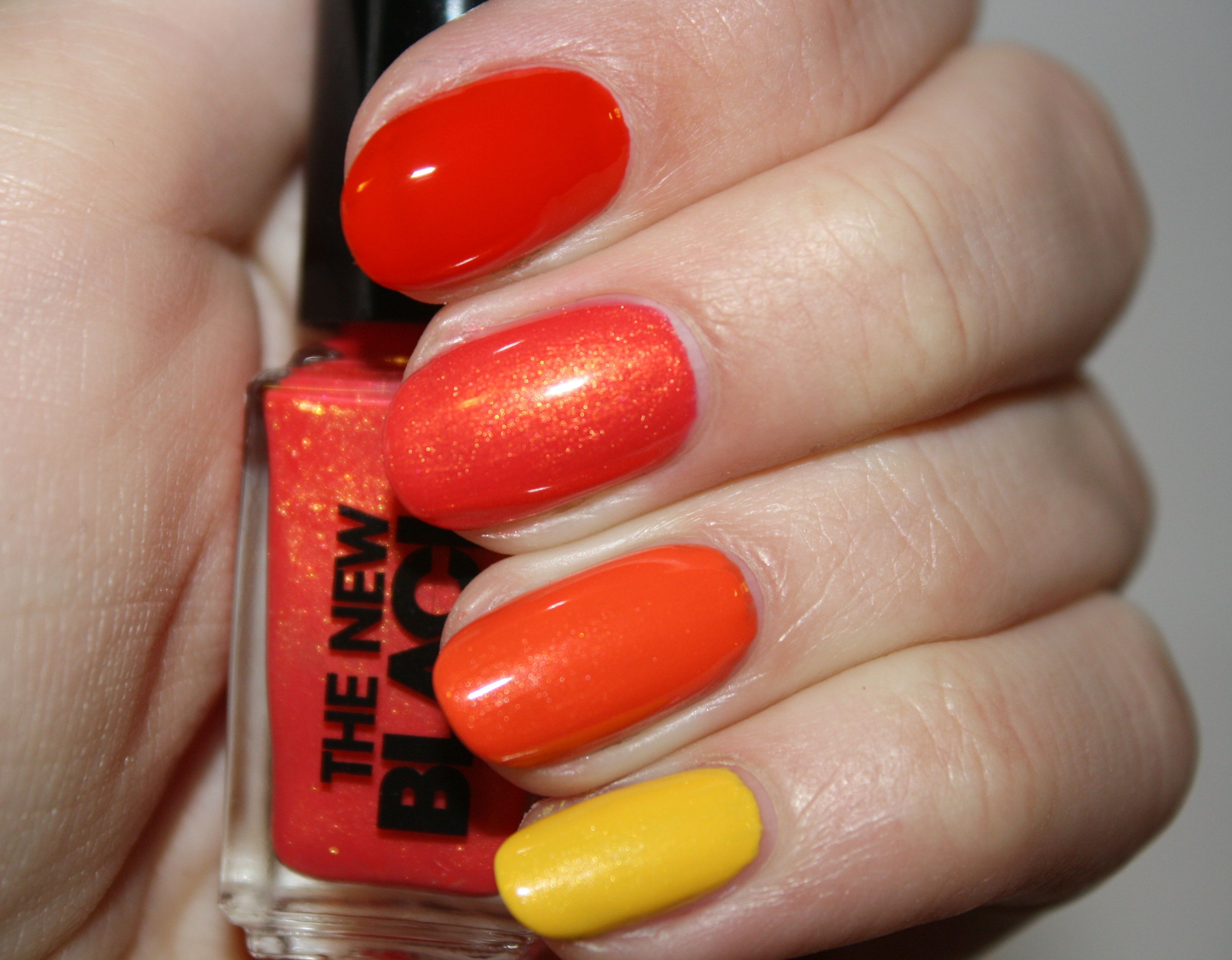fall colors ombre nails | nail art | Pinterest | Ombre, Swatch and ...