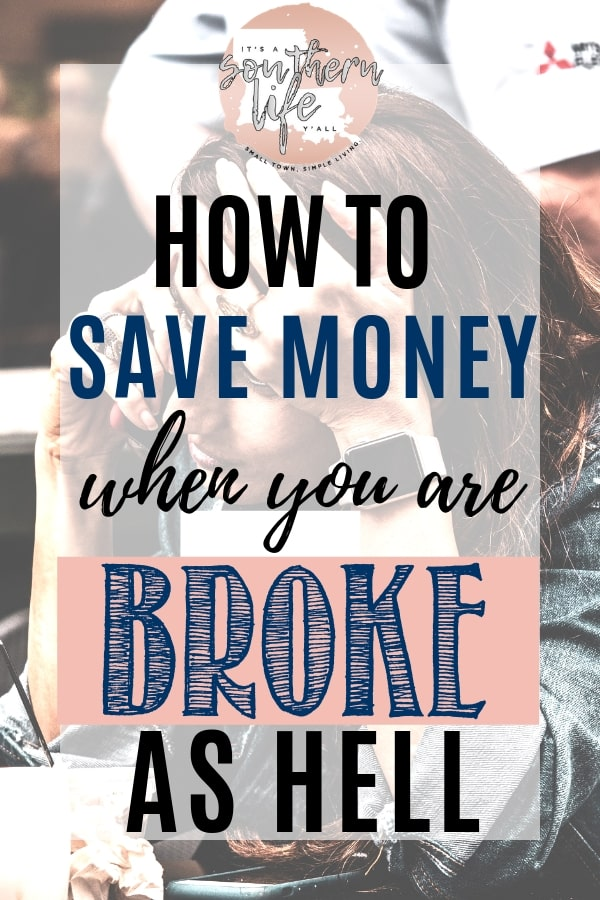 How To Save With No Money