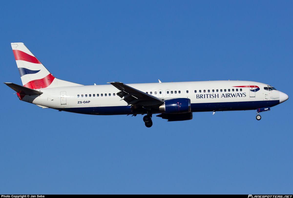 ZS-OAP Comair Boeing 737-4S3