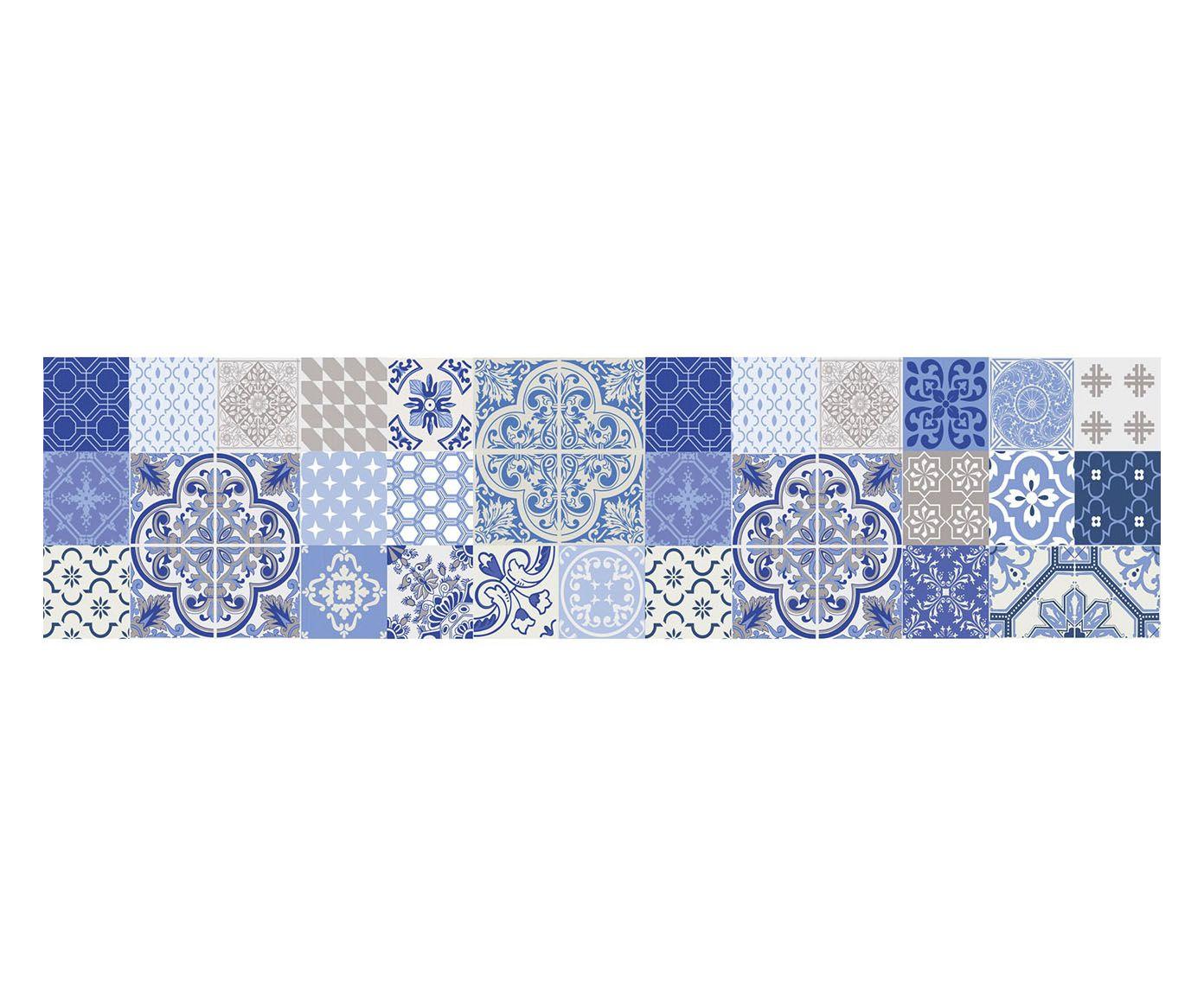 passatoia da cucina digitale in vinile anabela dalani home living greek azul style