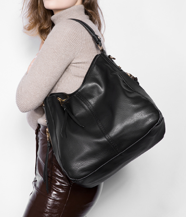 2765c996c Our Bryn is the perfect bag for everyday use! Slouchy pebbled waterproof  vegan leather won