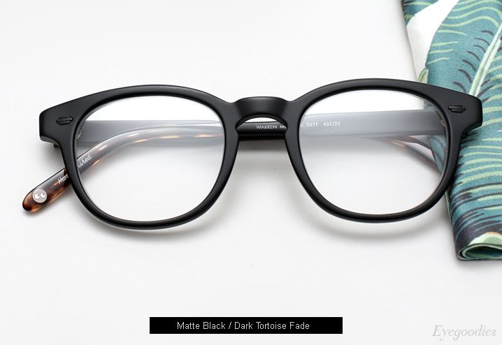 454f56c9b9 Garrett Leight Warren Eyeglasses - Matte Black