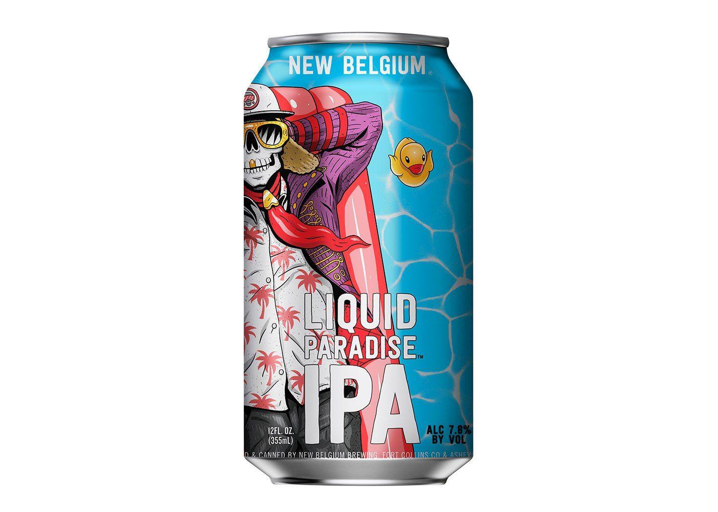 The Incognito Hop Process Creates New Belgium Liquid Paradise Ipa Ipa Beer Beer Nerd Ipa