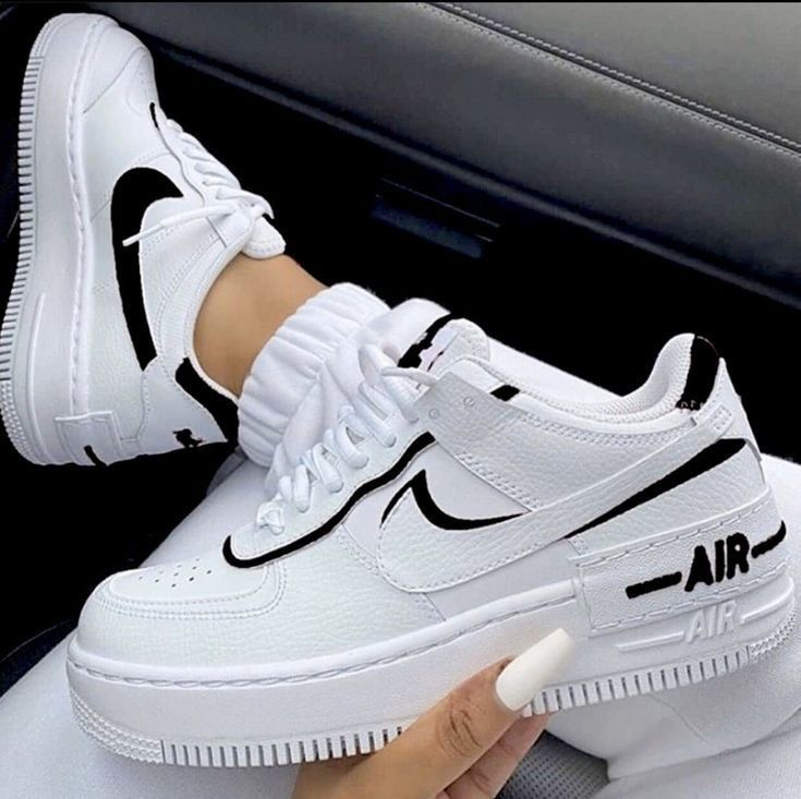 Black Shadow Nike Air Force 1 In 2020 Nike Fashion Shoes Nike Air Shoes Fresh Shoes