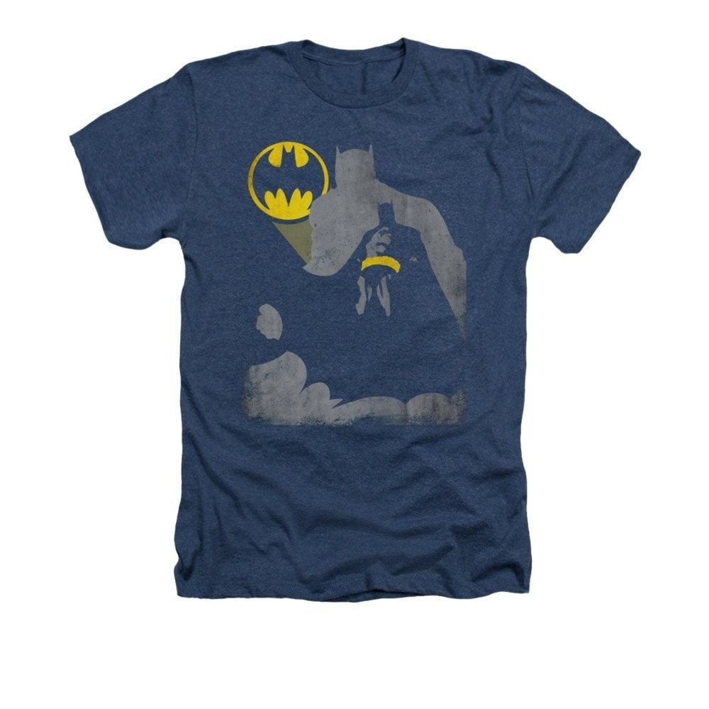 Batman - Bat Knockout Adult Regular Fit Heather T-Shirt