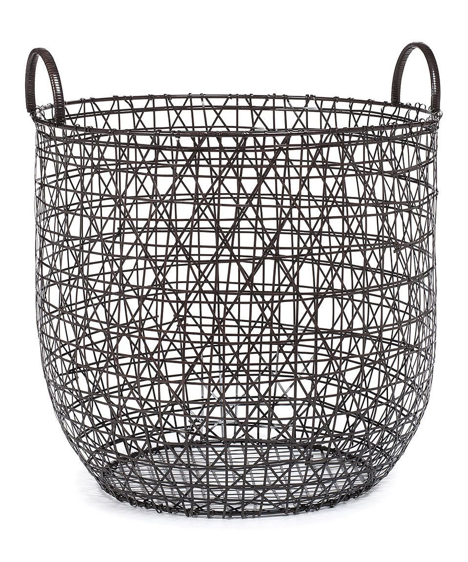 Look what I found on #zulily! Drum Woven Wire Basket by Abbott ...