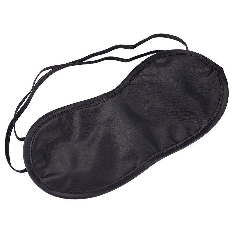 New 1 Pcs Night Eye Mask Travel Sleeping Eye Mask Aid Cover Black Shade Blindfold Eye Patch Travel