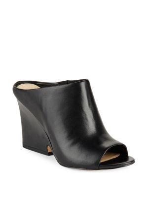 2289081b0 SAM EDELMAN Wayne Peep-Toe Leather Mules.  samedelman  shoes  sandals