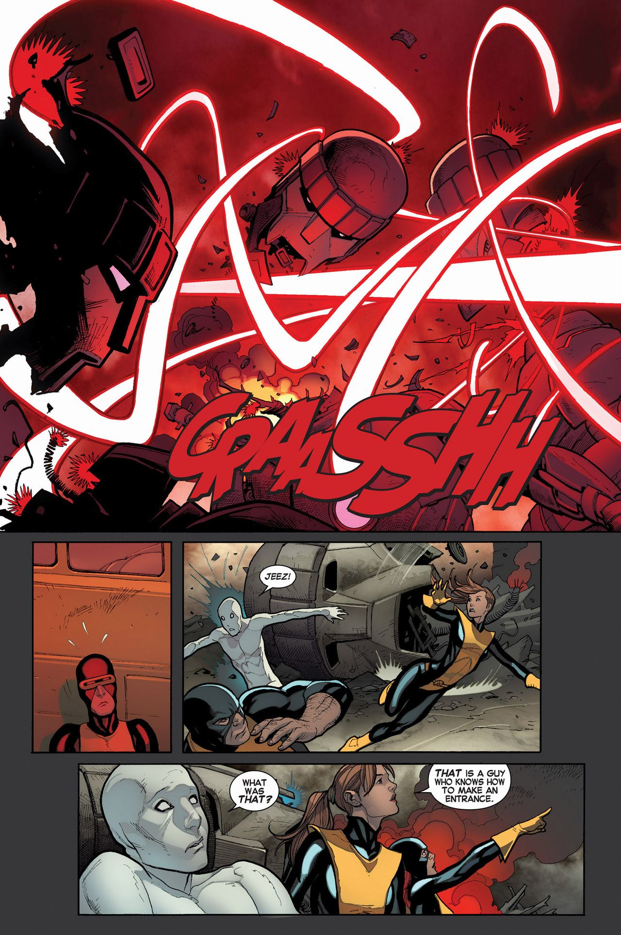 Cyclops Helps Out The Original 5 X Men Http Comicnewbies Com 2014 11 30 Uncanny X Men Helps Out The Original 5 X Men Cyclops X Men X Men Uncanny Avengers