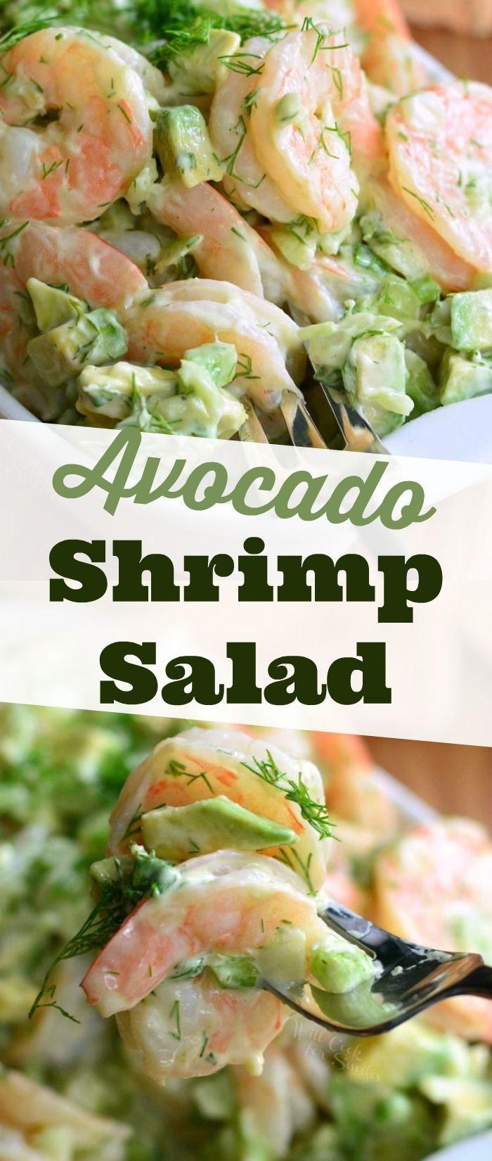 Photo of AVOCADO Shrimp Salad