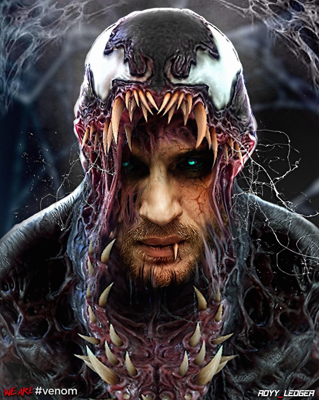 Artstation Tom Hardy As Venom Fanart Royy Ledger Venom Comics Marvel Venom Venom Art