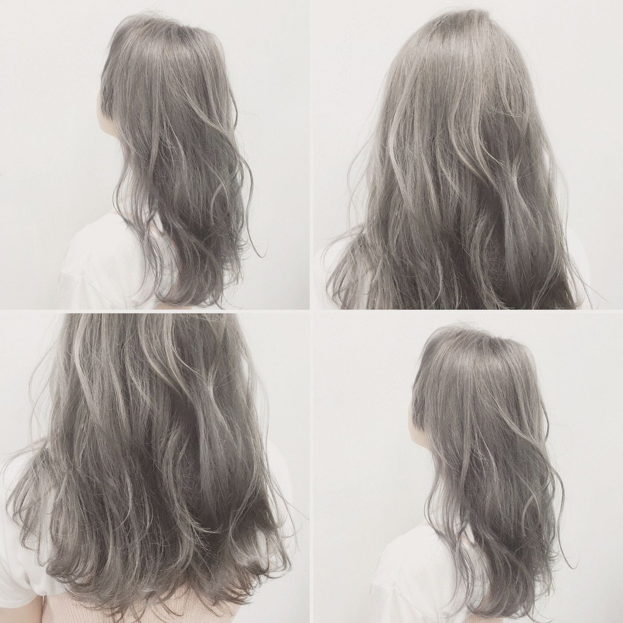 グレーのヘアカラーが引き出す垢抜け感 欲しいのはツヤと透明感 Mery メリー 髪 カラー ヘアカラー 髪 色