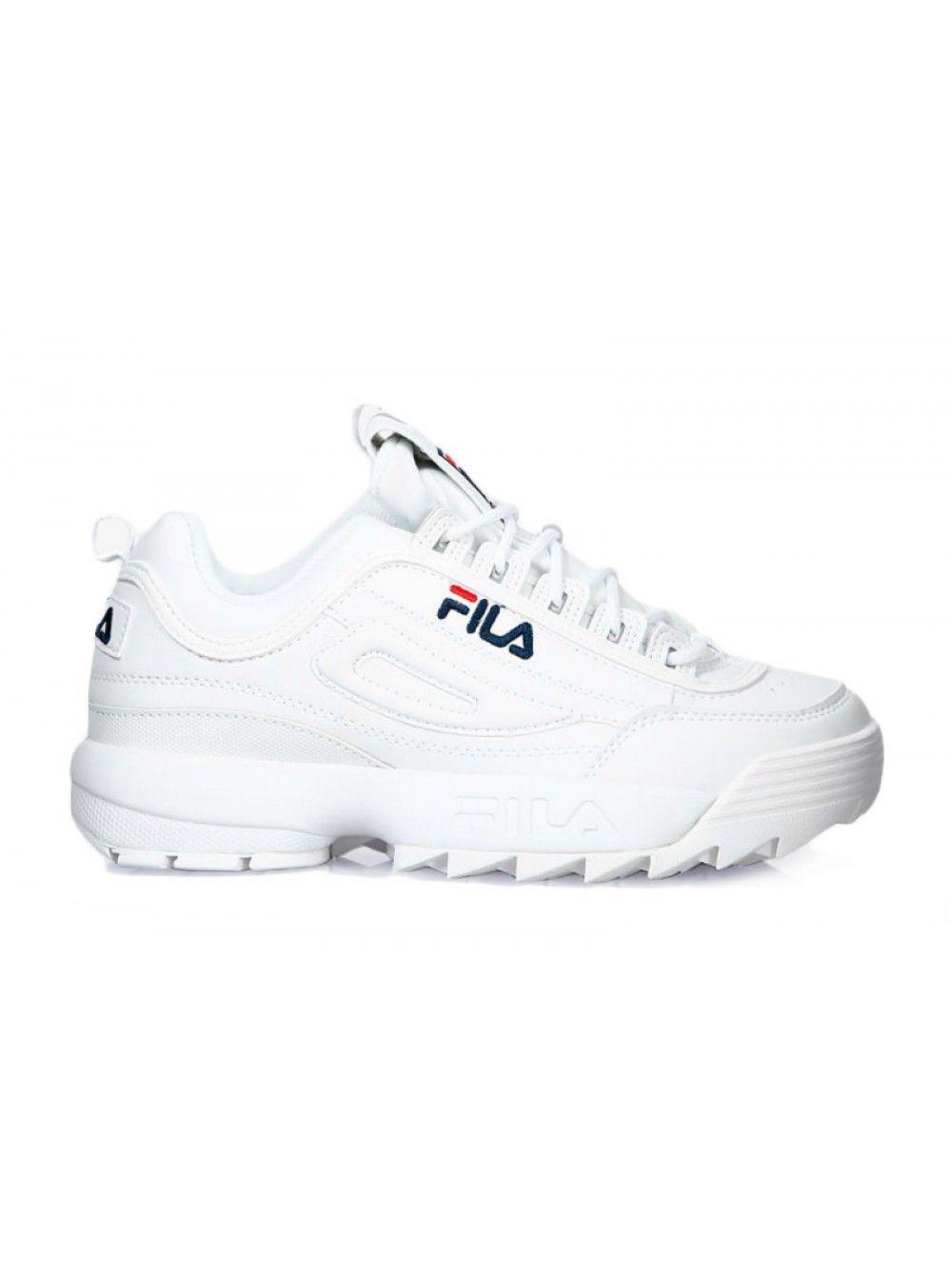Кроссовки Fila Disruptor 2 белые (36-45)  d2299b4063131