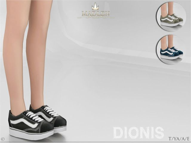 Sims 4 CC's - The Best: Madlen Dionis Shoes by MJ95