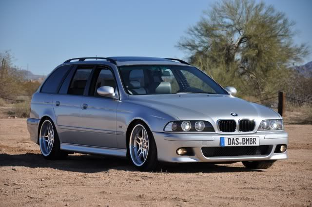 E39 Wagon On M Parallels With Images Bmw E39 Touring Bmw