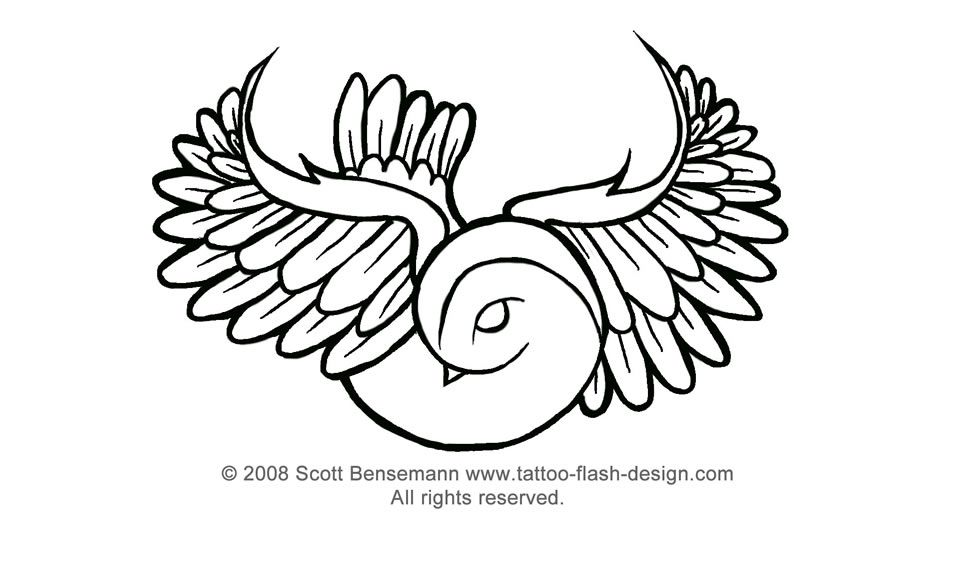 tattoo flash can be used as the template or outline for
