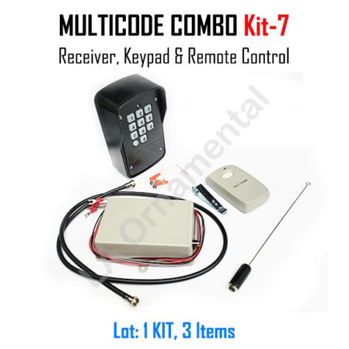 Multicode Kit 7 109950 Receiver 308911 Heddolf M330 1kb 300 Mhz In 2020 Receiver Combo Kit Kit