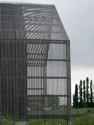The barn house buro ii archi i tectonic pinterest - Sichtschutz buro ...
