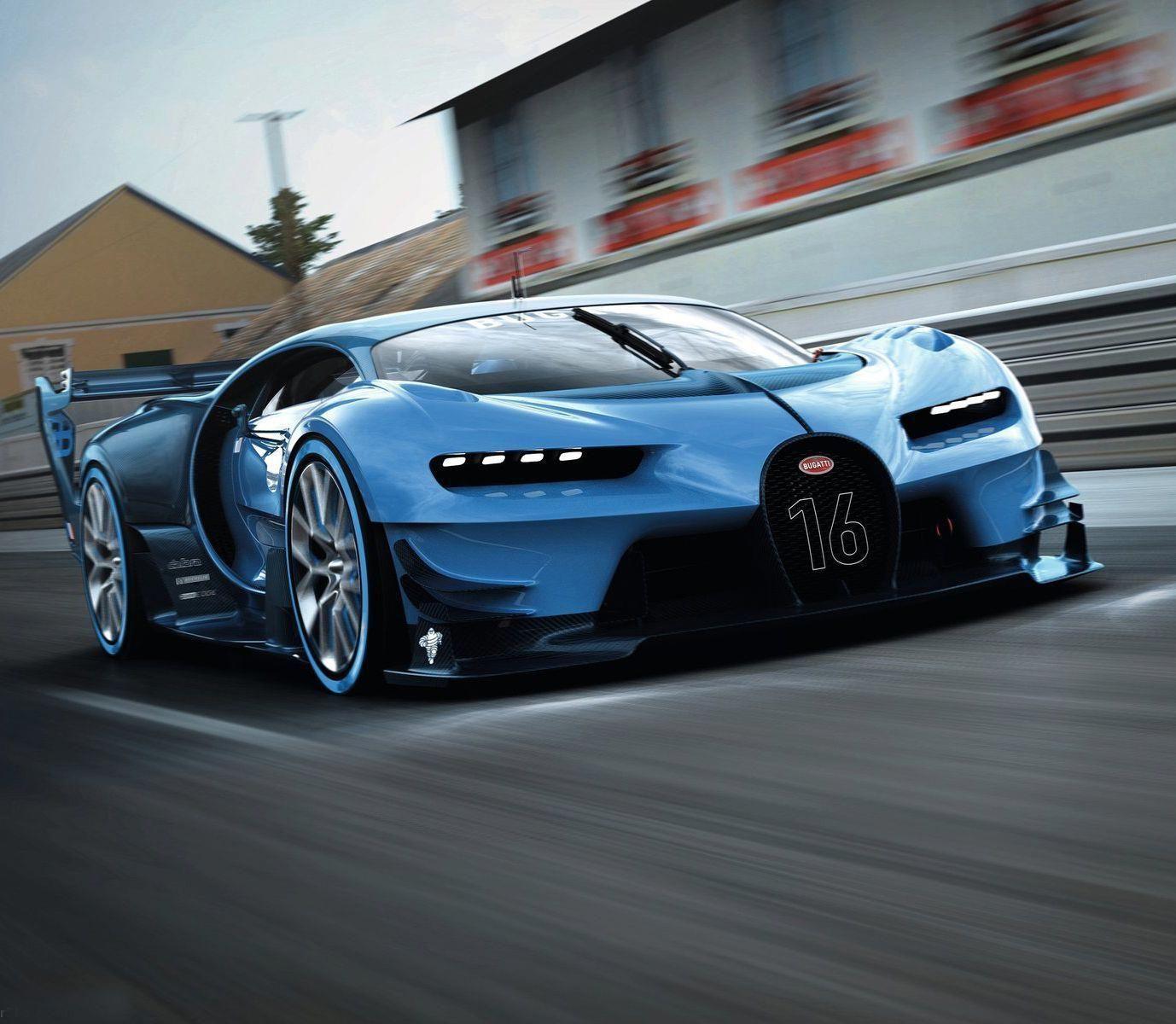 Chiron Super Sport Speedster Looks Like The Veyron: Bugatti Vision GT Rear. #bugattieb110