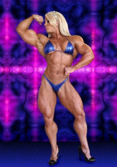 Zimbo muscle women rule flex it 39 cause it 39 s hot - Lisa cross fbb ...