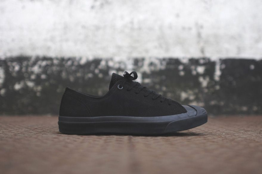 f68d44dc84  Converse 2014 Jack Purcell Black Black  sneakers