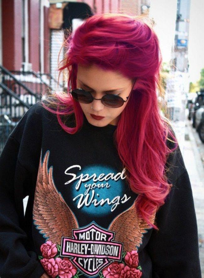 1000 ides sur le thme cheveux framboise sur pinterest couleurs de cheveux cheveux et cheveux mauves - Coloration Cheveux Rouge Framboise