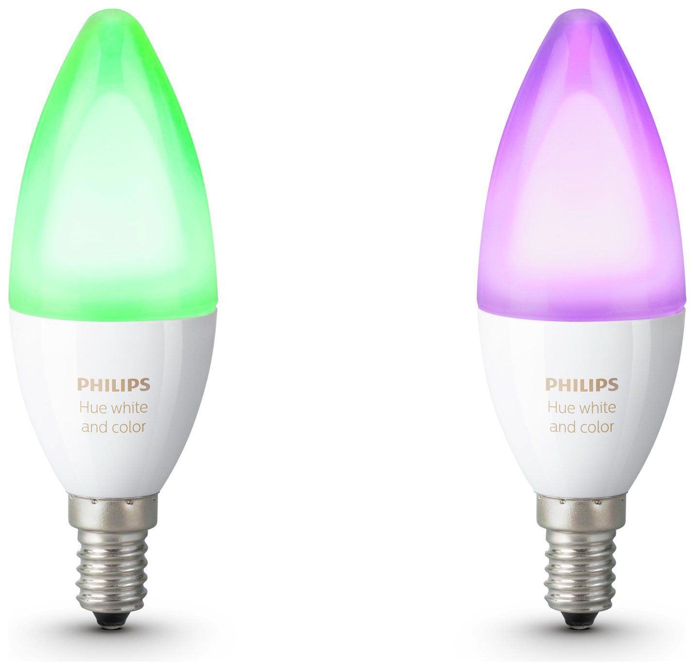 Philips Hue White And Colour Ambience E14 Candle Twin Pack In 2020 Works With Alexa Lamp Sets Hue