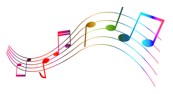 Transparent Colorful Notes Png Clipart Music Notes Art Music Notes Drawing Clip Art
