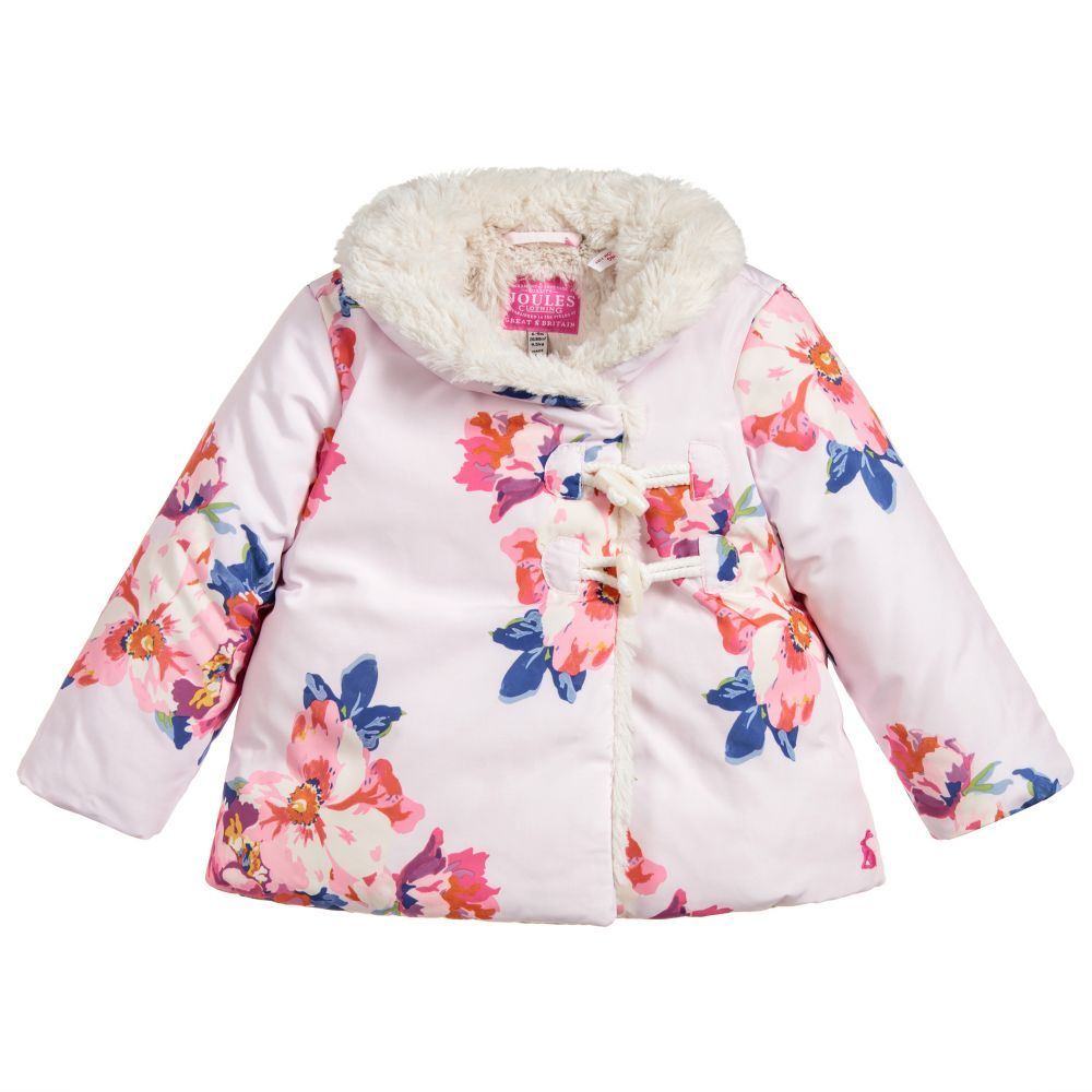 ae2227559 Baby Girls Floral Coat for Girl by Joules. Discover more beautiful ...