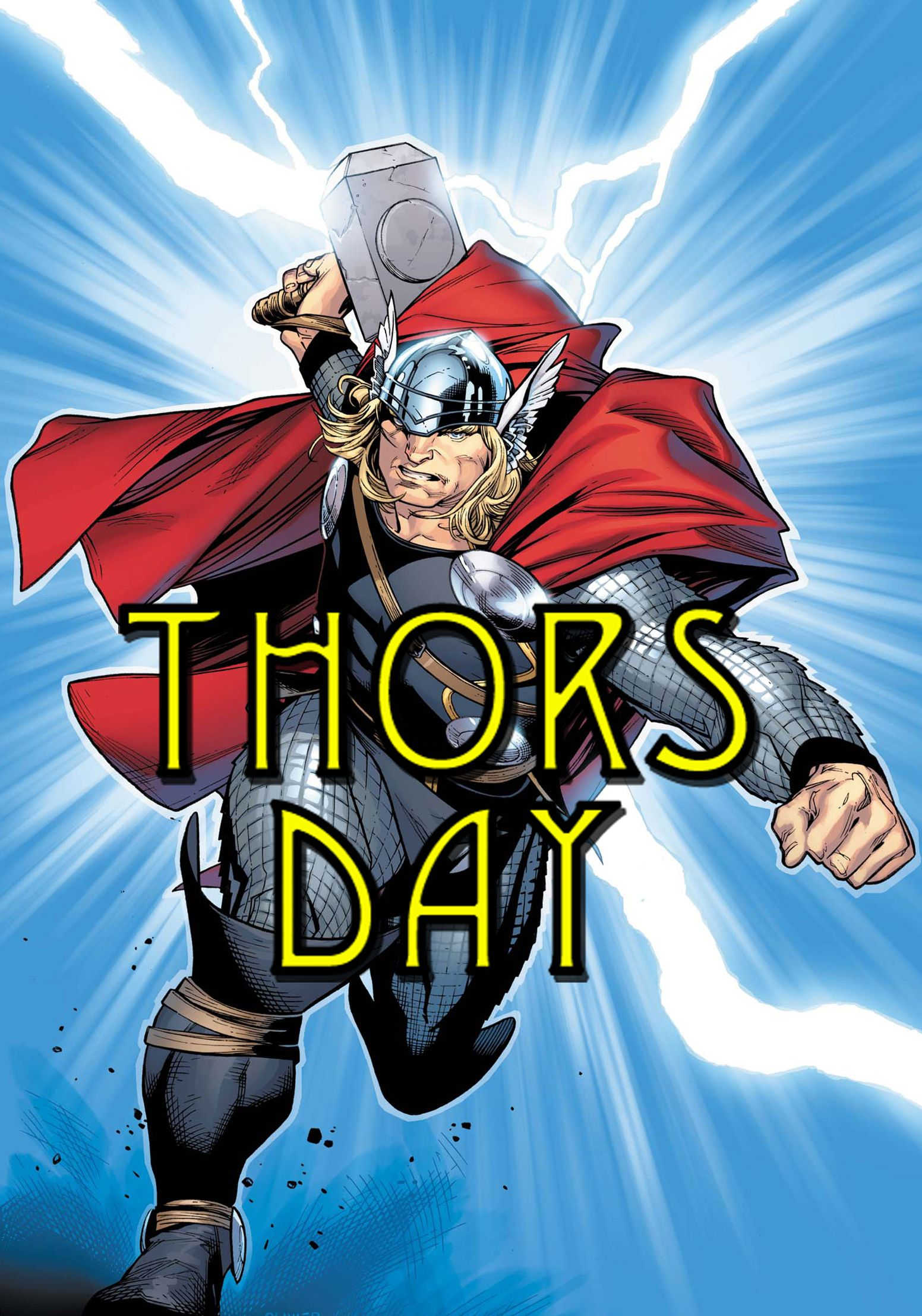 +thorsday   THORSDAY!May 6th is the day THOR slams into theaters, and [...]