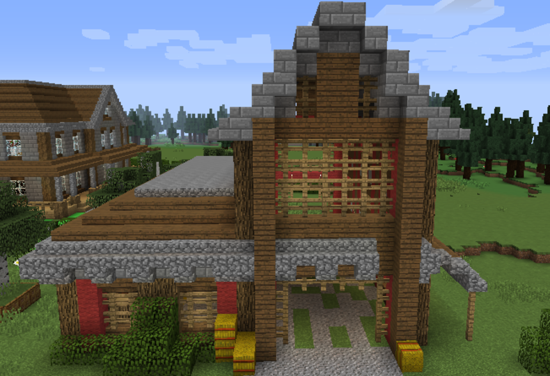 . Horse Stable 1   GrabCraft   Your number one source for MineCraft