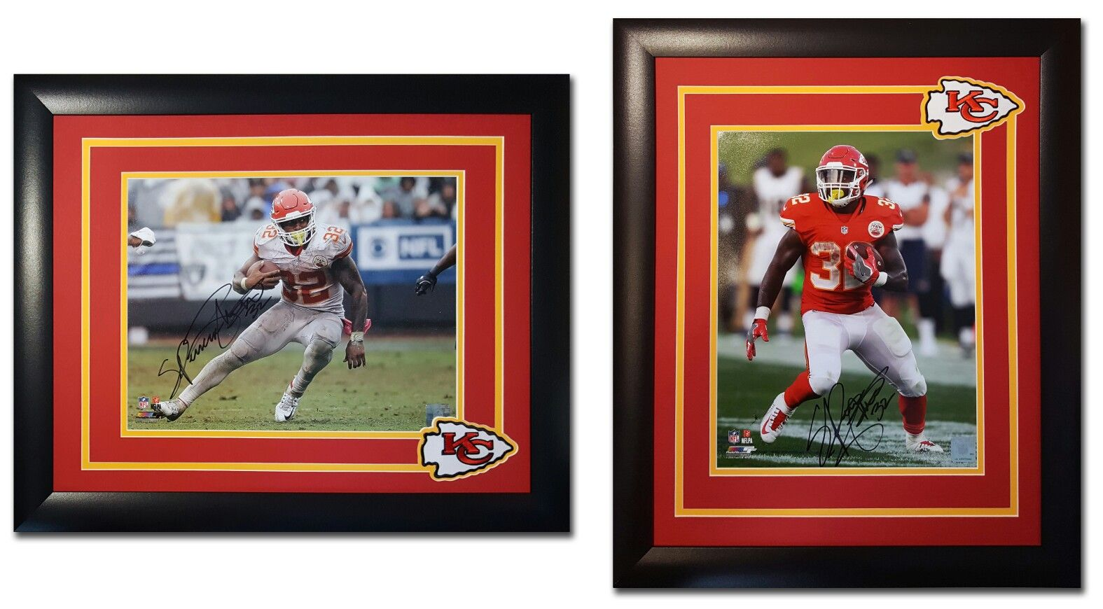 Spencer Ware. Kansas City Chiefs. 11x14 photos. Different layouts ...