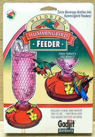 DIY Hummingbird Plastic Feeder Base