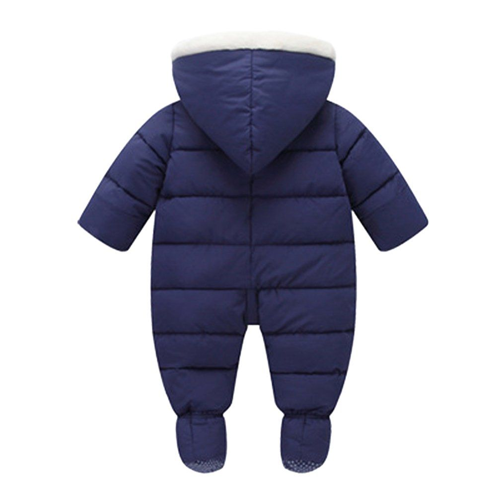 f25978248 Genda 2Archer Baby Winter Hooded Puffer Snowsuit Down Thick Romper06M * For  additional information, browse