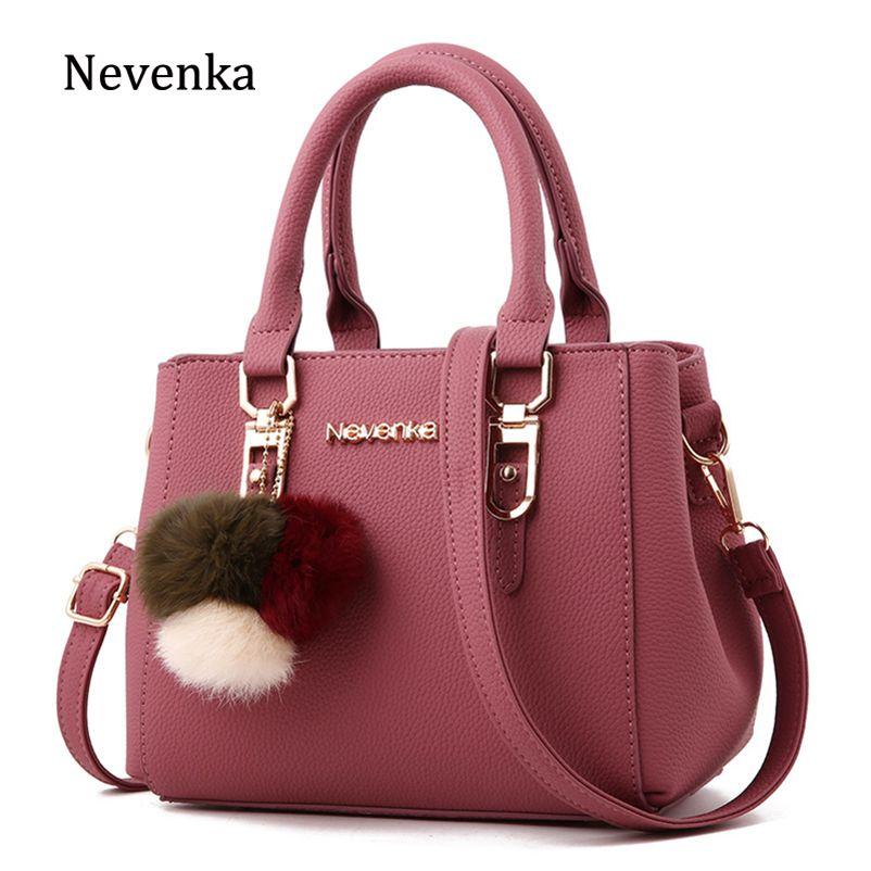 77edaa4ac9ca Nevenka Leather Handbag Women Messenger Shoulder Bag Female Crossbody Bags  for Women Purses and Handbags Women Summer Bag 2018 Review