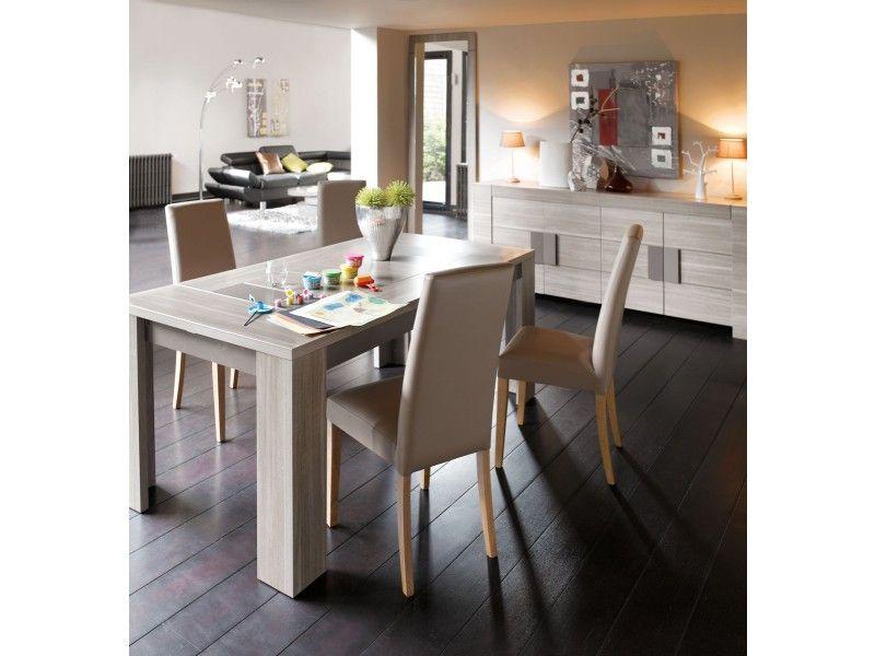 Amazing Table Rectangulaire 180 Cm ATLANTA Coloris Chêne Fusain   Pas Cher ? Cu0027est  Sur Conforama.fr   Large Choix, Prix Discount Et Des Offres Exclusives  Table De ...