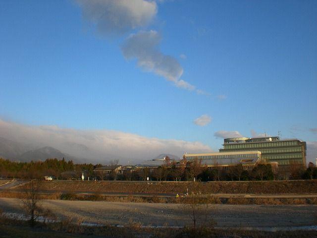 菰野町菰野地区          平成24年12月24日撮影