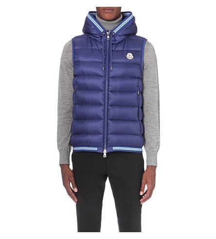 4ea920fe26d4 MONCLER Amiens quilted shell vest.  moncler  cloth