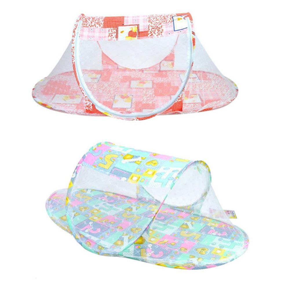 Kids Baby Mosquito Net Bed Canopy Foldable Bedding Dome Tent ... for Folding Mosquito Net For Baby  56bof