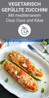 #mediterranem #vegetarisch #gefüllten #vegetarier #gefüllte #geeginete #zucchini #abnehmen #häufig #...