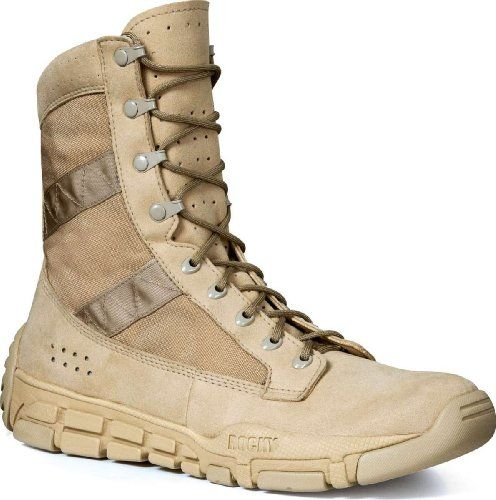 The Rocky® Trainer Military Duty Boot is the lightest military performance  boot Rocky has ever made. Designed for rigorous training, the Rocky is a  game ...