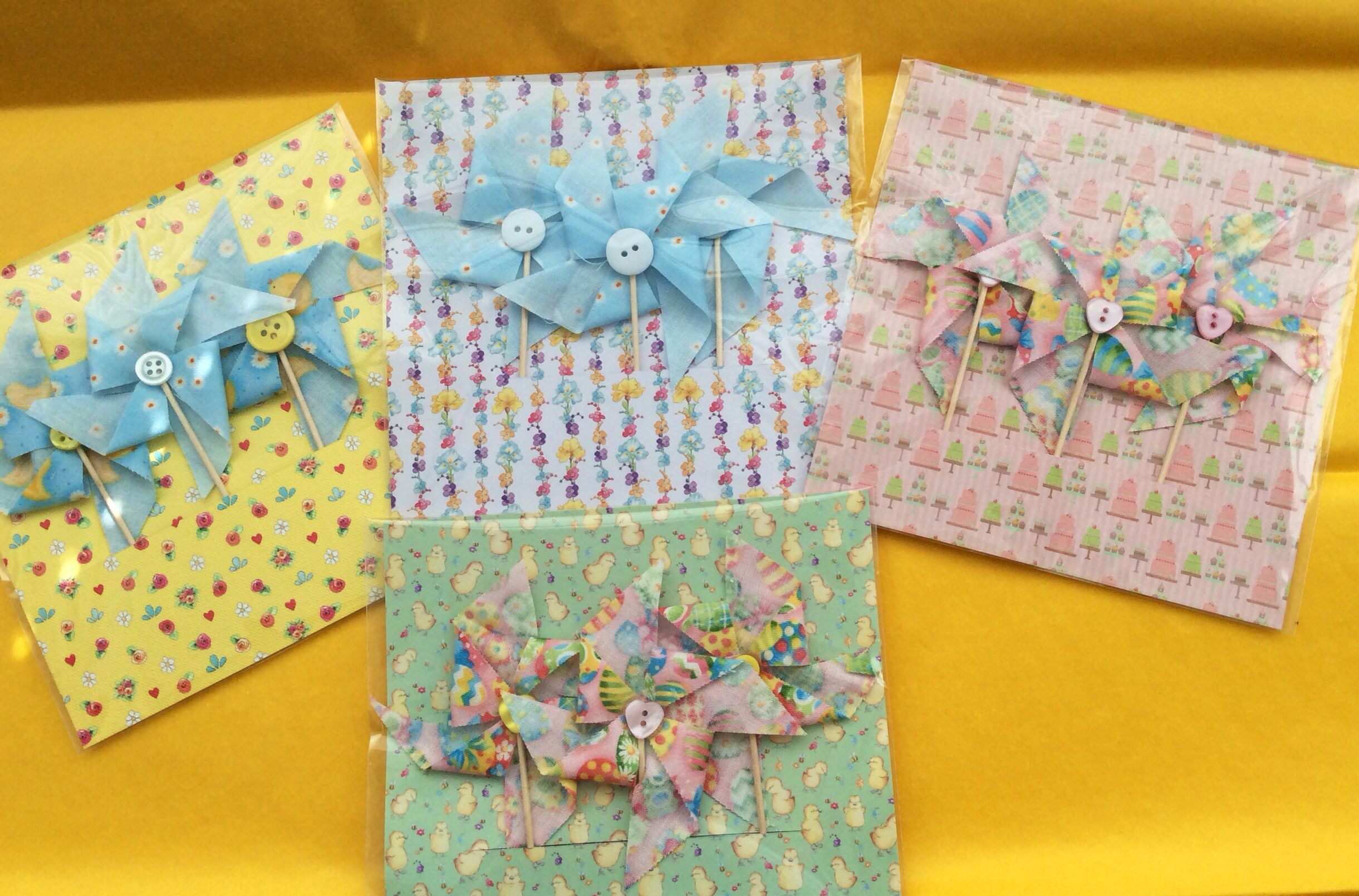 Easter cupcake toppers £1.50 per pack of 3 (plus p&p) from Kitty's Bunting