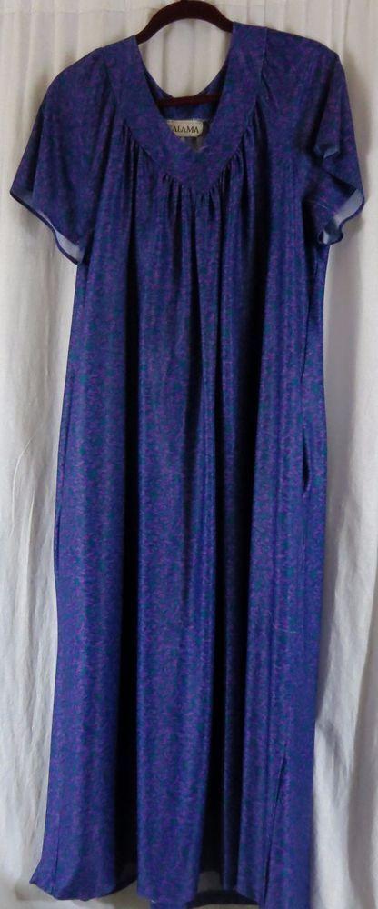 eb65a20aac4553 Kalama House Dress Multi Color XL Polyester Casual Comfortable Loose   Kalama  HouseDress
