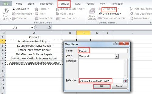 2 Methods to Auto Refresh the Drop-Down List in Your Excel Worksheet