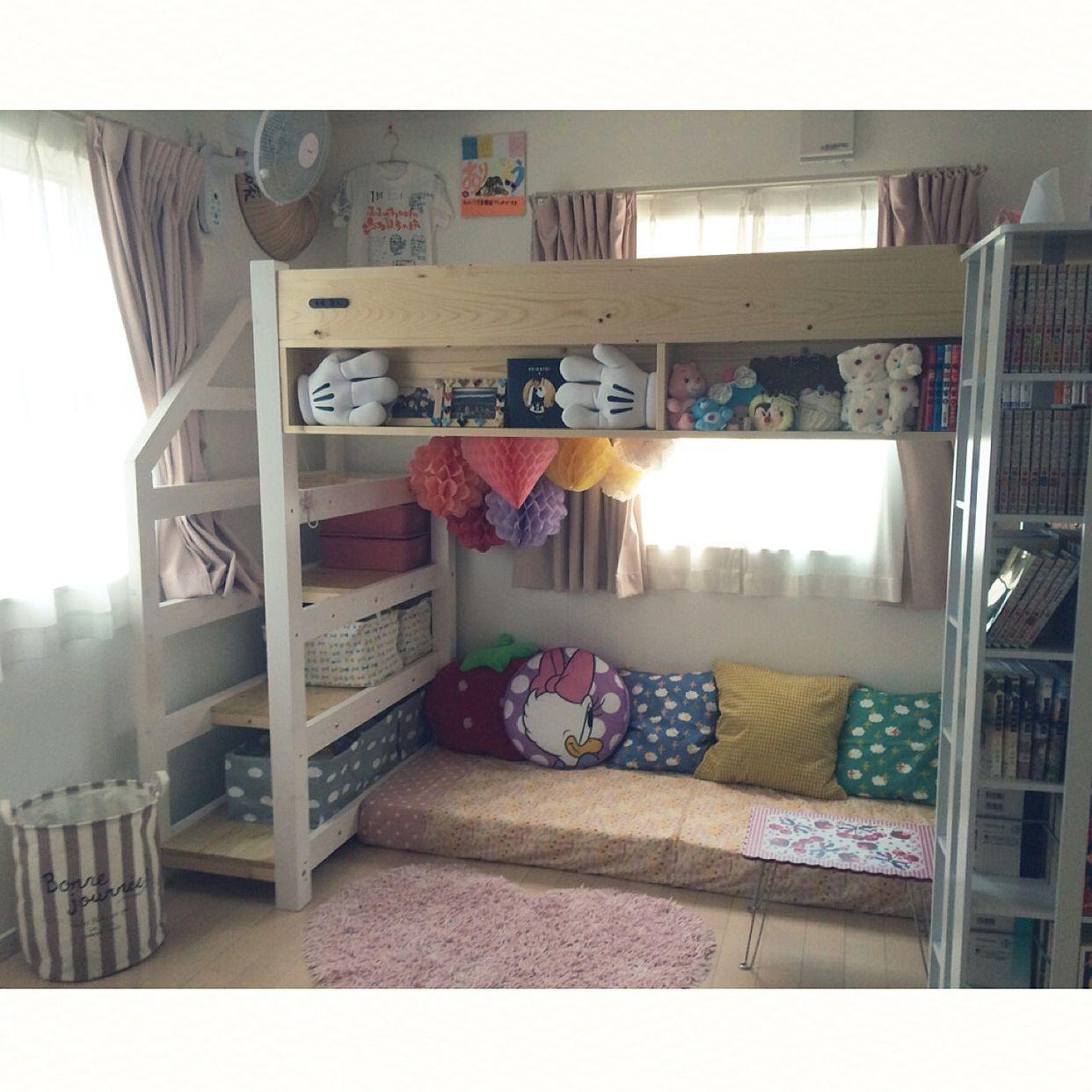 ロフトベッド 子供部屋 の画像検索結果 ロフトベッド Ikea ベッド ロフトベッド 子供部屋