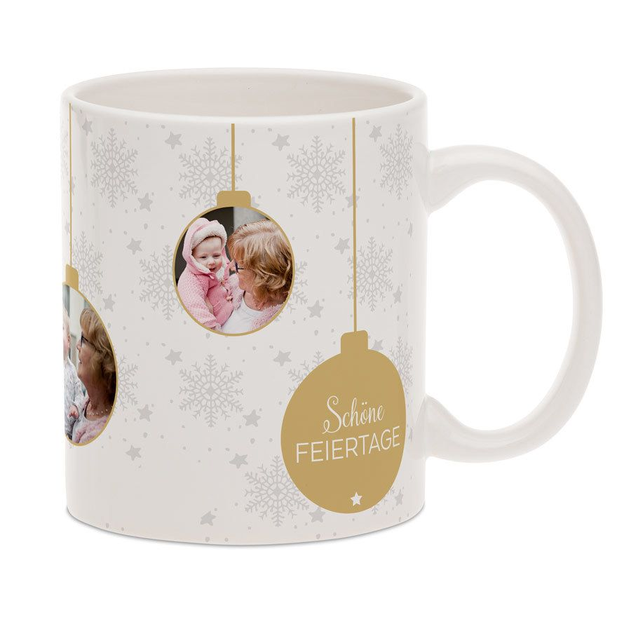 Tasse mit Foto - Weihnachtstasse | Weihnachtstassen ...